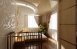 Дизайн интерьера спальной комнаты для молодой семьи