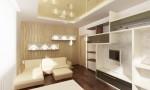 Кабинет в современном стиле для не молодого хозяина. 2-х этажный коттедж с мансардой