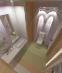 Сан.узел для гостей на 1-м этаже в 2-х этажном коттедже с мансардой