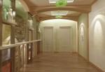 Дизайн интерьеров коттеджа с мансардой. Холл 2-го этажа
