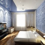 Дизайн спальни в 3-х комнатной квартире. Вариант 1