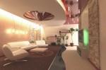 Проходной холл в гостинице. Дизайн-проект