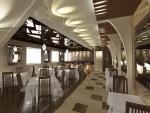 Дизайн интерьера ресторана. Обеденный зал