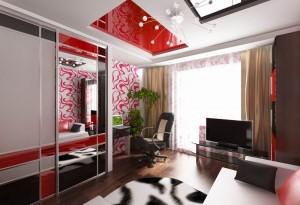 Комната для молодой семьи. Дизайн-проект