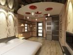 Спальня родителей. 6-ти комнатная квартира в Екатеринбурге