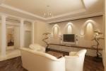 Дизайн гостиной в г.Тарко-Сале