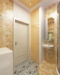 Дизайн гостевого туалета в г.Тарко-Сале