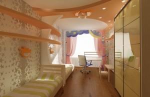 Детская в 4-х комнатной квартире