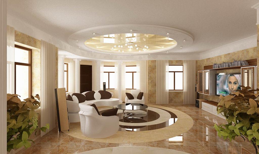Фото гостиной дизайн в коттедже