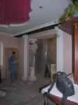 Фотография интерьера 2-х этажного коттеджа(дома) в процессе отделки