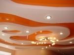 Фотографии интерьеров с использованием многоуровневых натяжных потолков