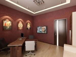 Дизайн интерьеров офисов. Директорат.