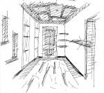 Дизайн интерьера, эскизный проект