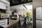 Дизайн интерьера столовой в 5-ти комнатной квартире