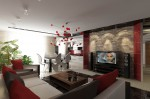 Дизайн интерьера гостиной в элитной квартире