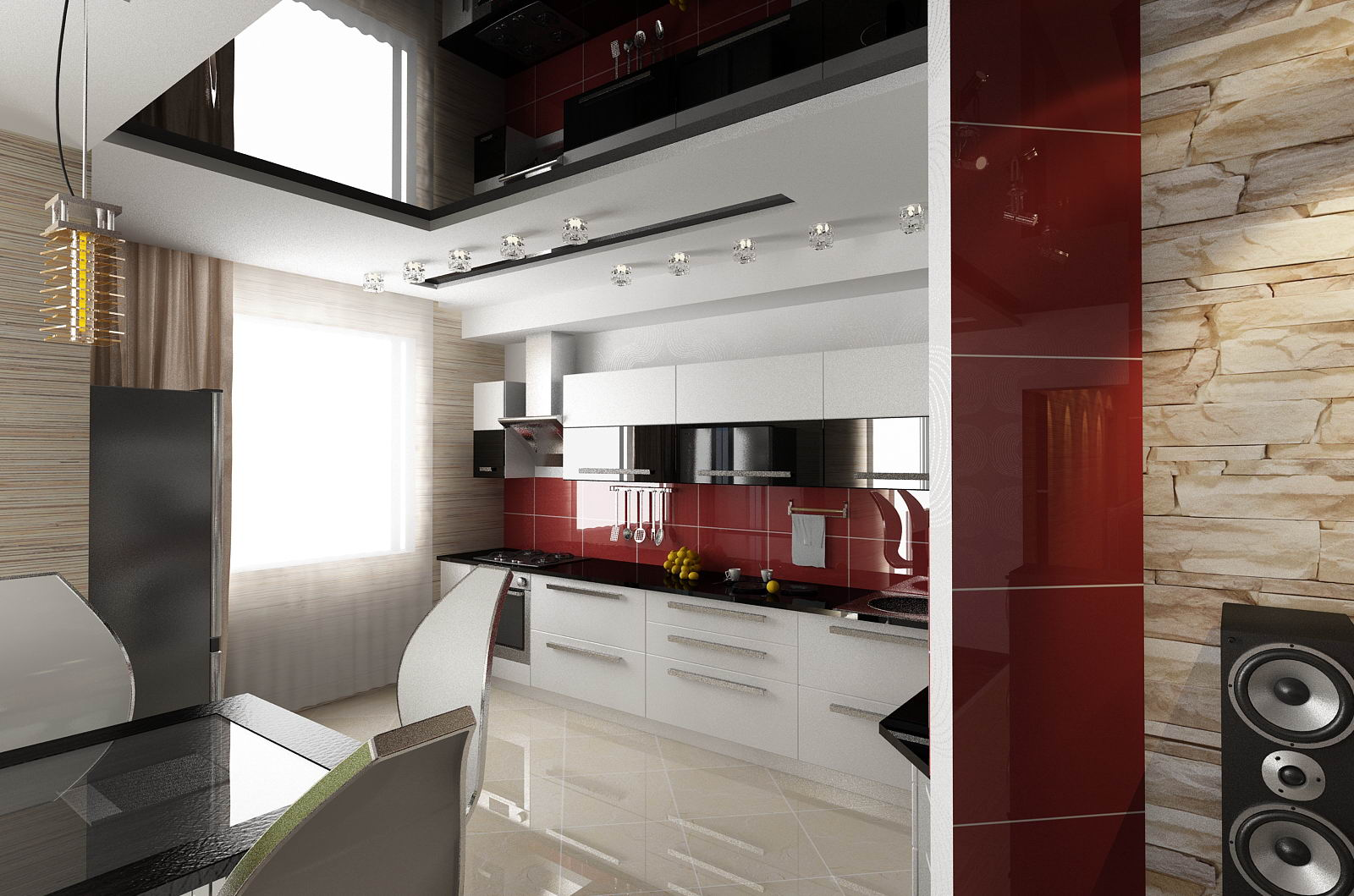 кухня фото интерьер в квартире