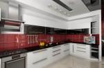 Дизайн интерьера кухни в элитной квартире