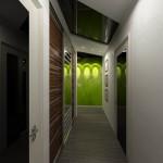 Дизайн интерьера прихожей-коридора