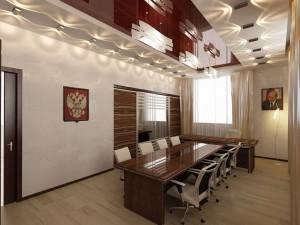 Современный дизайн офиса. Кабинет директора