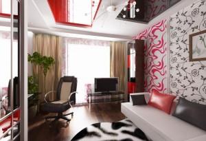Дизайн интерьера небольших квартир. Спальня