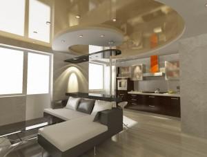 Дизайн интерьера небольших квартир. Гостиная