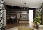 Дизайн квартиры. Интерьер гостиной
