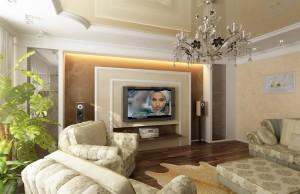 Дизайн интерьера в стиле современной классики