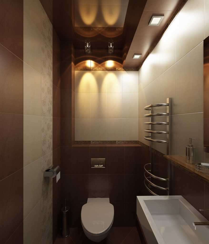 туалет интерьер дизайн фото