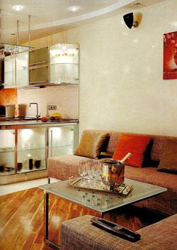 Дизайн интерьера в стиле хай - тек