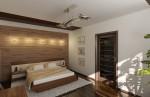 Спальня родителей. Вариант 1. Дизайн интерьера по фен-шуй