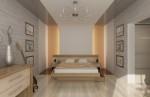 Спальня родителей. Вариант 2. Дизайн интерьера по фен-шуй