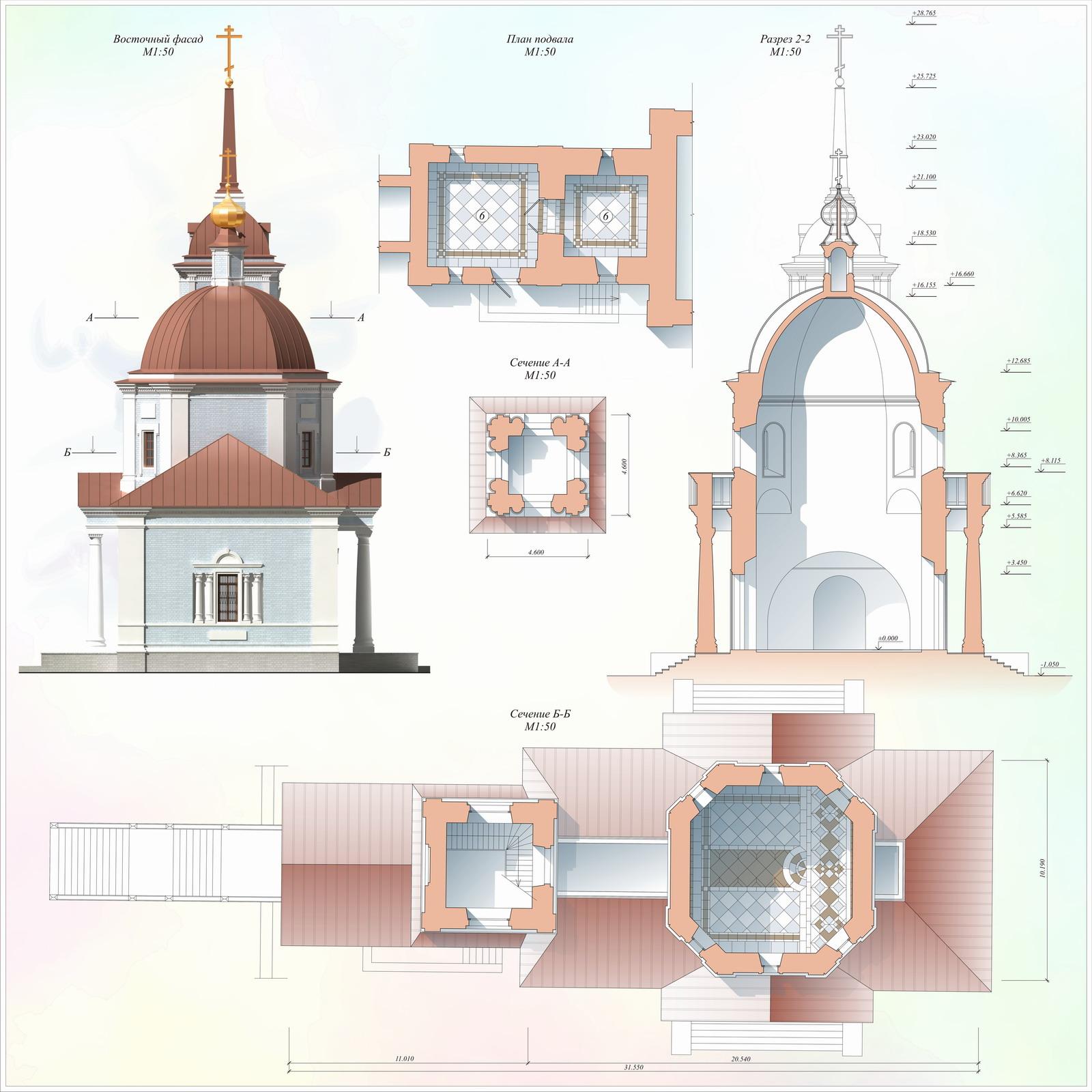 Проект реставрации церкви Покрова Богородицы