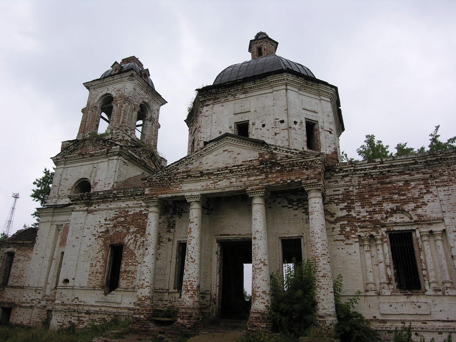 Фотофиксация церкви Покрова Богородицы