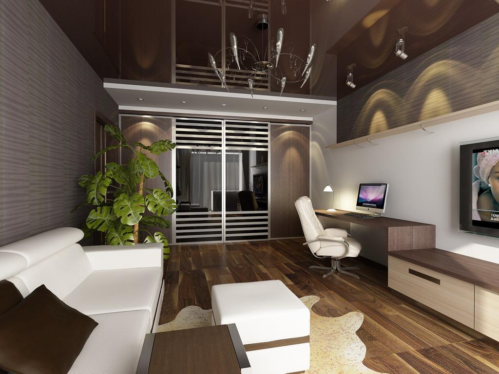 любите оформление гостиной в однокомнатной квартире фото самого