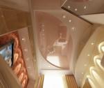 Дизайн интерьера комнаты девочки в 3-х комнатной квартире. Вариант 1