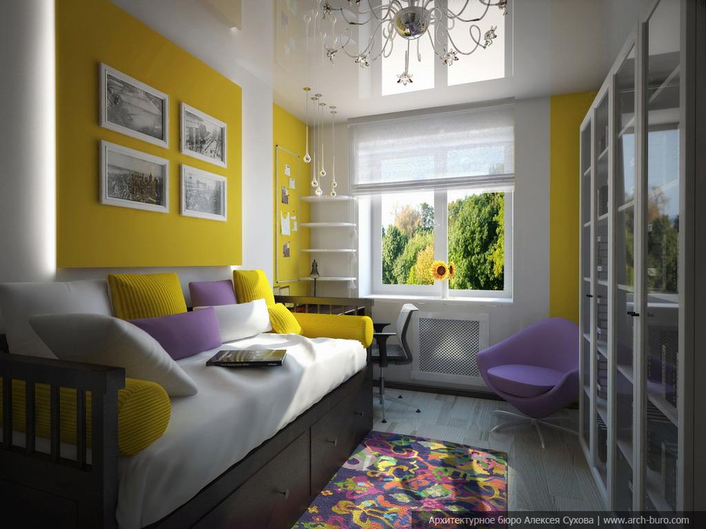 Дизайн комнаты родителей 53