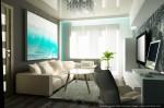 Дизайн интерьера гостиной в малогабаритной квартире