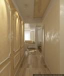 Дизайн квартиры. Прихожая-коридор