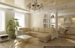 Дизайн квартиры. Гостиная