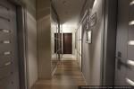 Дизайн квартиры в современном стиле. Прихожая-коридор