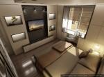 Дизайн квартиры в Москве. Спальня родителей