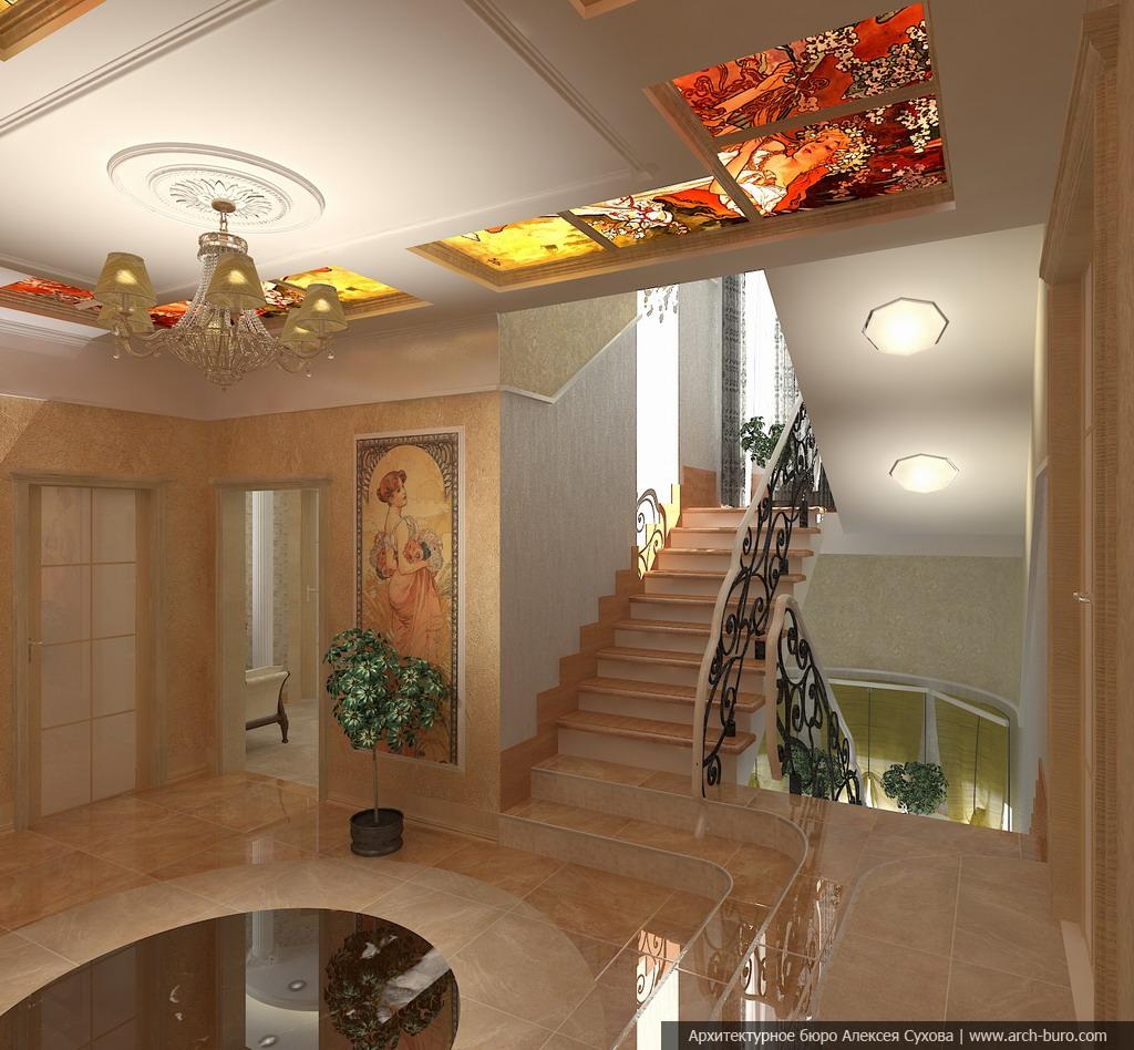 когда фото и дизайн гипсокартонные потолки в холле возможно исцеление фотографий