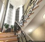 1-й этаж. Дизайн лестницы