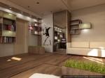 2-й этаж. Дизайн комнаты подростка