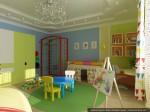 2-й этаж. Дизайн комнаты малыша