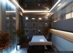 Цокольный этаж. Дизайн массажного кабинета