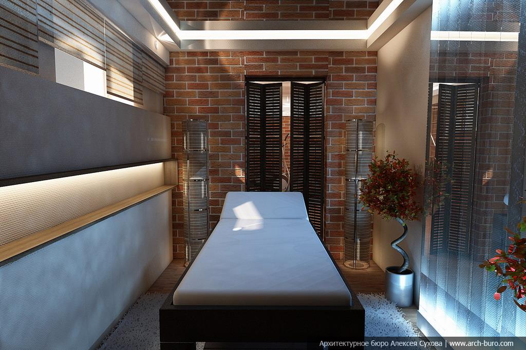 фото дизайн массажного кабинета