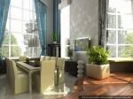 Дизайн кухни столовой в коттедже. Посёлок Растущий, Екатеринбург