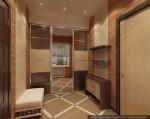 Дизайн квартиры в таунхаусе. Прихожая-тамбур