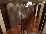Прихожая, холл. Дизайн интерьеров коттеджа